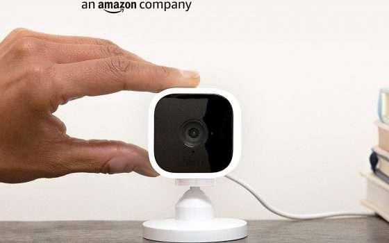Telecamera Blink Mini in super offerta su Amazon
