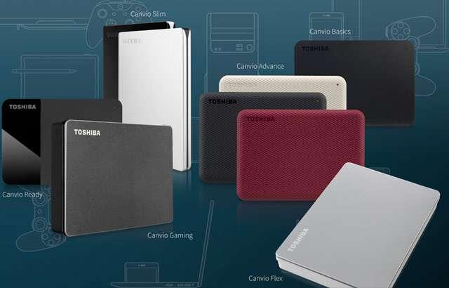 I nuovi hard disk esterni della linea Toshiba Canvio