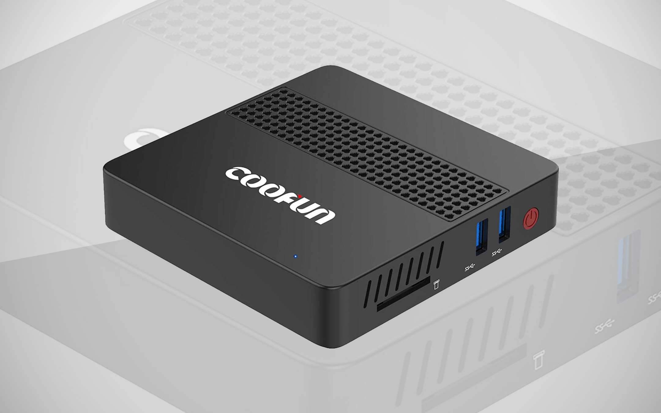 Coofun Mini PC with Intel CPU and 8 GB RAM on offer