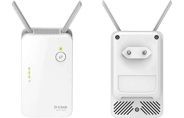 D-Link DAP-1620, ripetitore WiFi