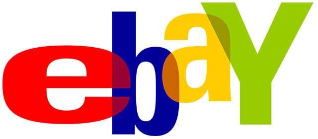 Il primo logo di eBay