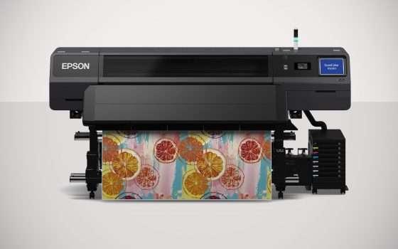 La stampante a resina Epson SureColor SC-R5000