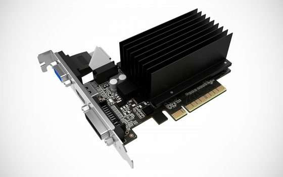 La scheda GeForce GT710 di Palit a meno di € 40