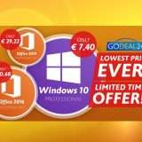 Windows 10 a meno di 7.40€ con GoDeal24