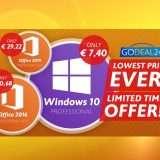 Windows 10 a meno di 7.40€ con GoDeal24