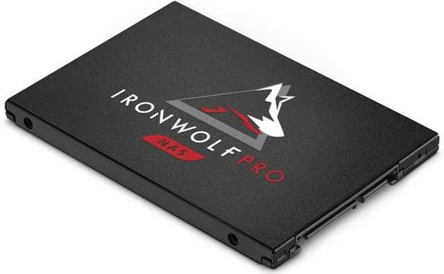 L'unità IronWolf Pro 125 SATA di Seagate