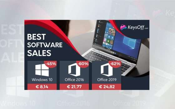 Solo 8€ per Windows 10: Back to School perfetto su keysoff.com