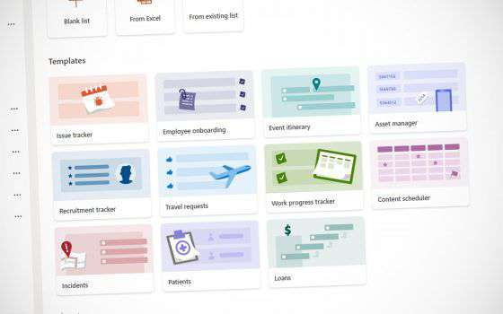 Microsoft porta l'applicazione di Lists in Teams