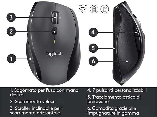 Il mouse Logitech M705 Marathon