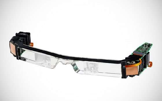 AR per il lavoro: gli occhiali Epson Moverio VM-40