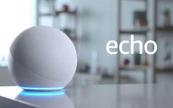 Echo Dot, carezza di San Valentino: sconto del 30%