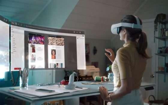 Oculus Infinite Office: VR per la produttività