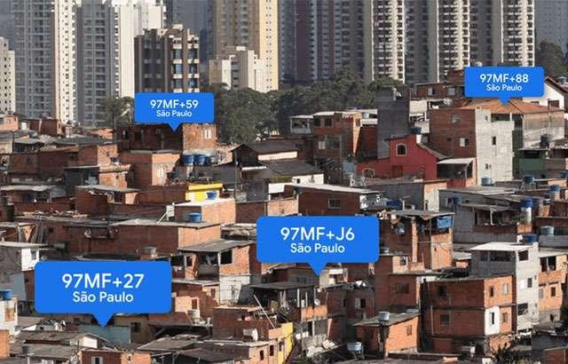 Gli indirizzi Plus Codes generati con l'algoritmo di Google
