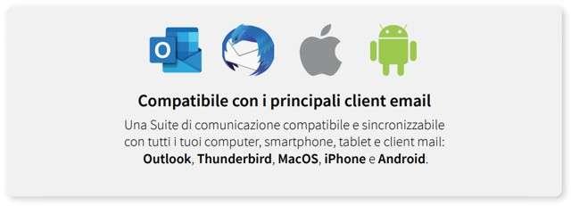 Qboxmail: compatibilità