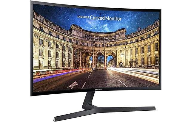 Il monitor Samsung LC27F396FHUXEN