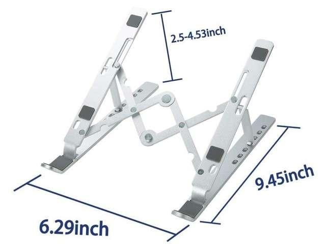 Supporto per laptop APSONAR in alluminio ventilato
