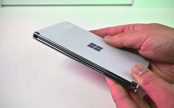 L'unboxing di Surface Duo prima del lancio