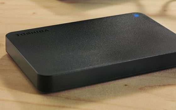 HDD esterno Toshiba da 2 TB a 49,99 euro