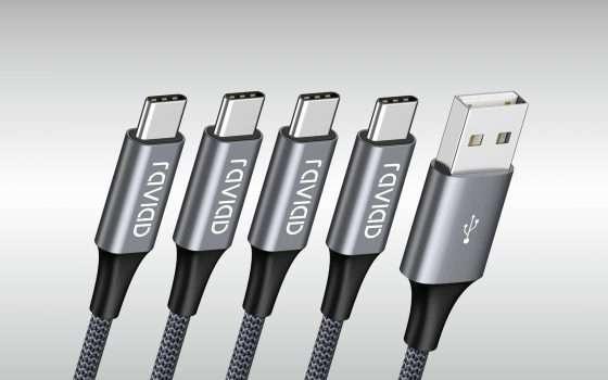 Cavi USB-C: pacchetto sconto per tutte le esigenze