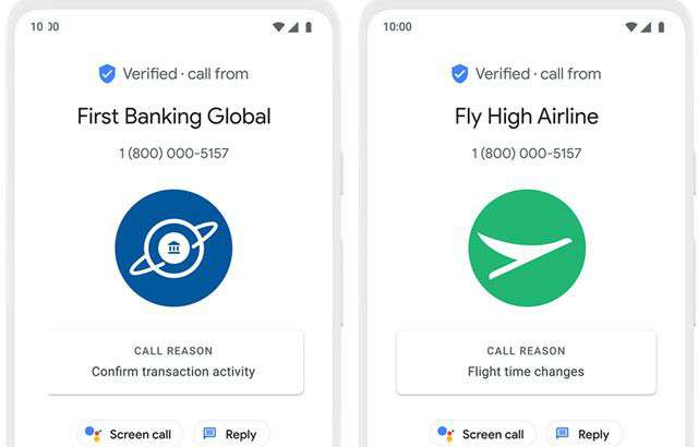 Le Verified Calls di Google in arrivo in Android 11