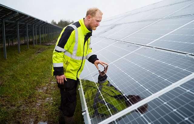 L'impianto fotovoltaico del data center Apple a Viborg