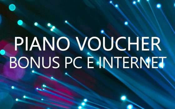 Piano Voucher: bonus PC e Internet a fine settembre