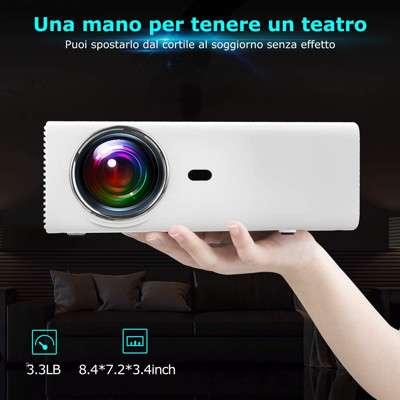 Proiettore portatile Yaber