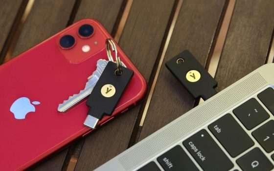 Yubico presenta la nuova chiave YubiKey 5C NFC