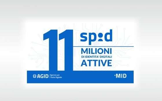 Un milione di nuovi SPID registrati in un solo mese