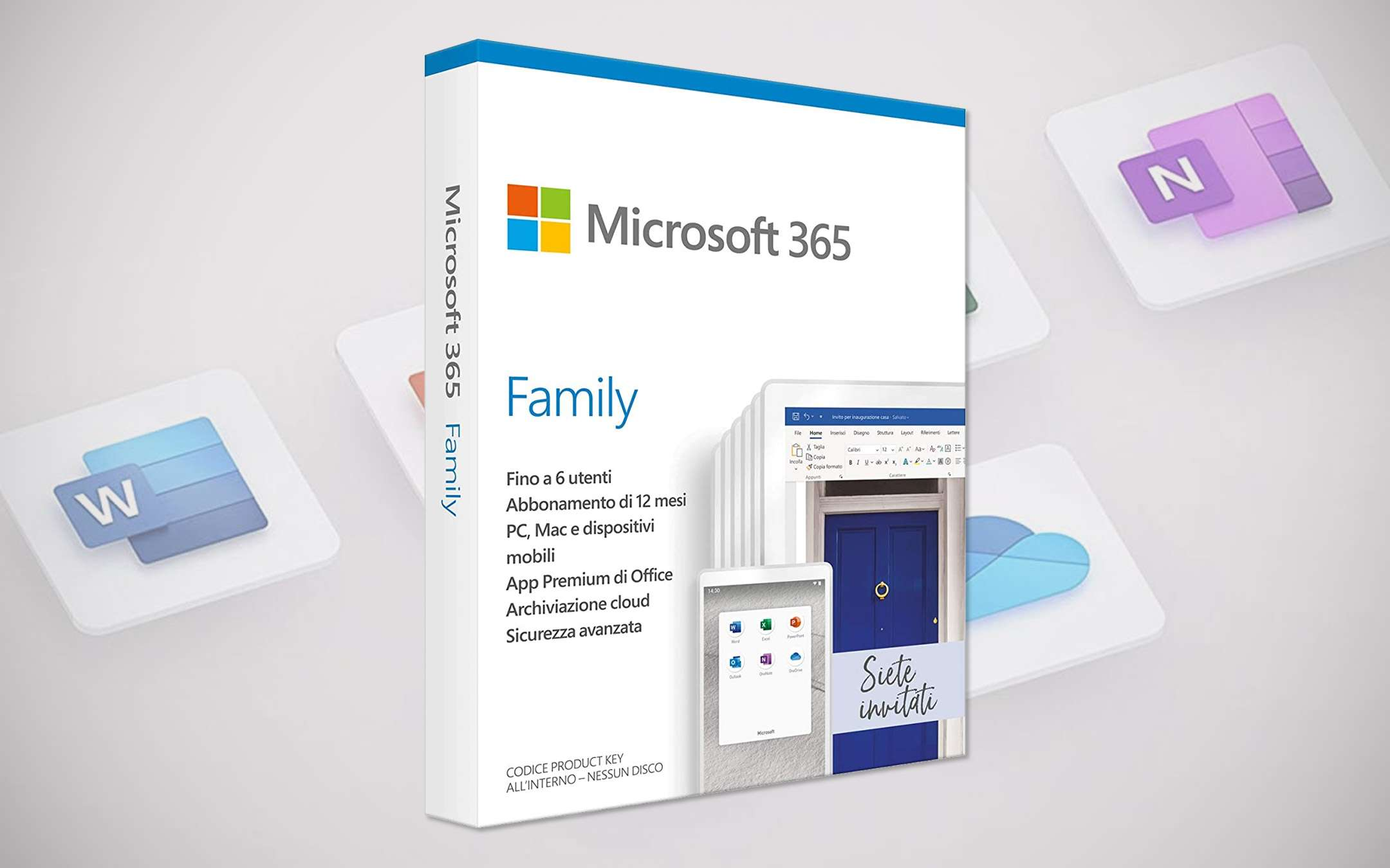 Microsoft 365 Family discounted today on Amazon