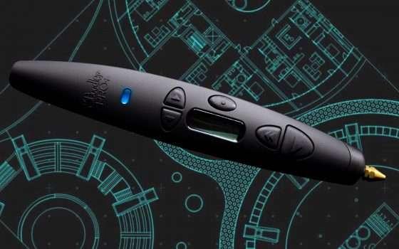 3Doodler PRO+, penna 3D che stampa legno e metallo
