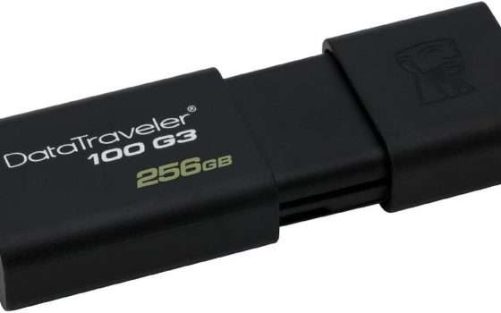 Pendrive USB SanDisk da 128 e 256 GB in super sconto