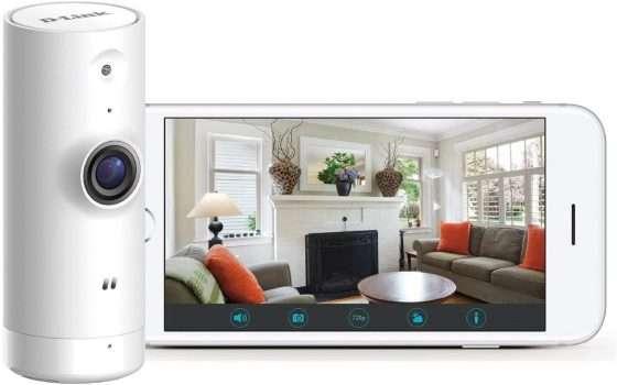 Mini telecamera da interni D-Link a metà prezzo su Amazon