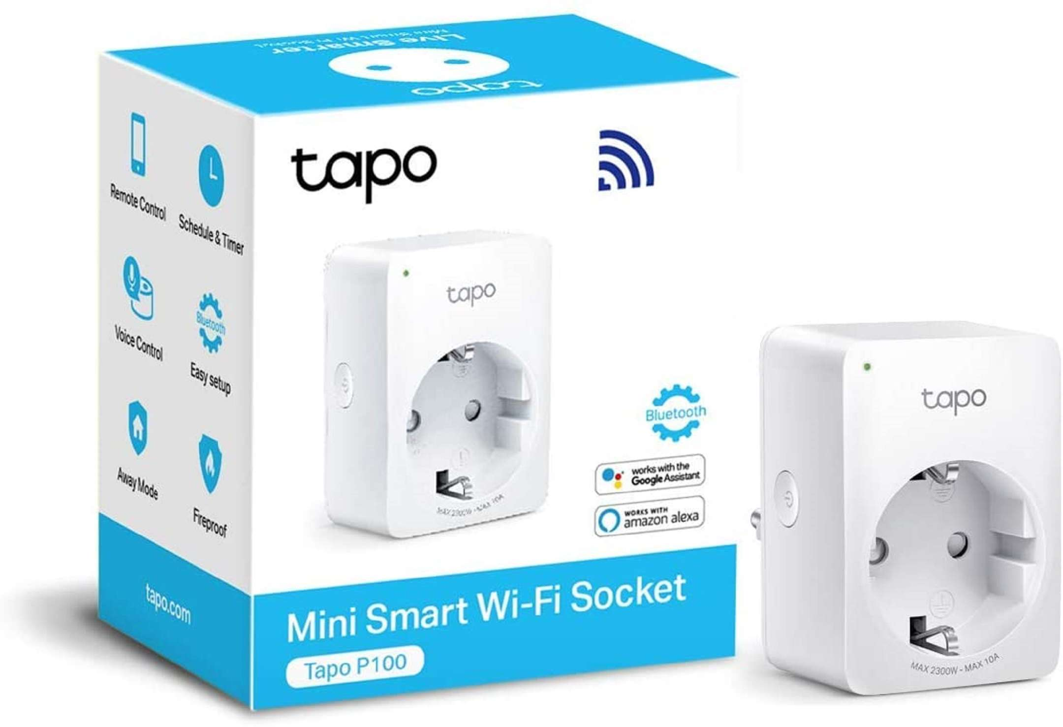 TP-Link Tapo P100 smart socket for only € 9.99 on Amazon