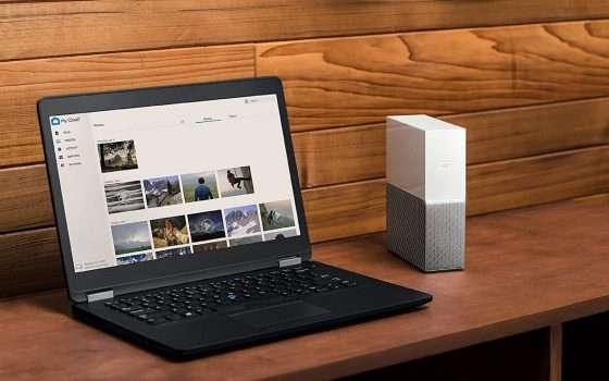 Western Digital My Cloud Home: storage fino a 4TB in super sconto
