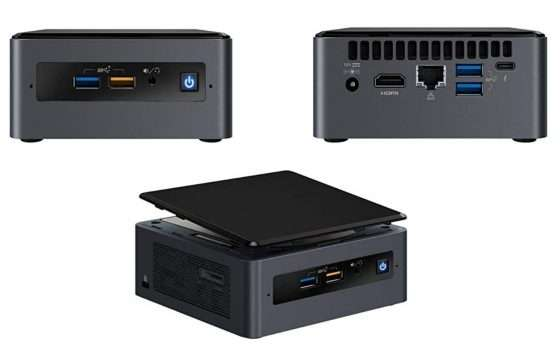 Intel NUC con processore i5 quad-core in forte sconto