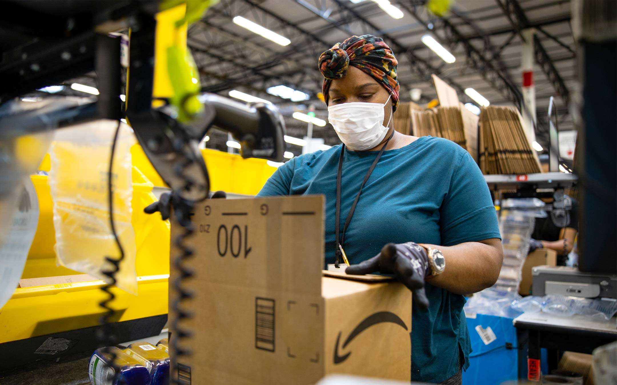 Amazon: 19,816 employees positive for COVID-19