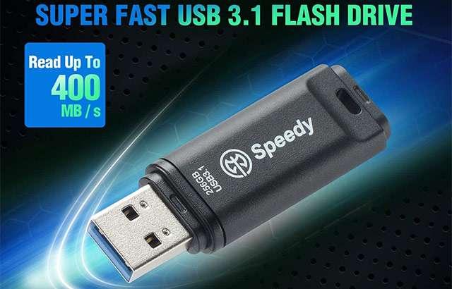La pendrive USB 3.1 di Axe Speedy da 256 GB