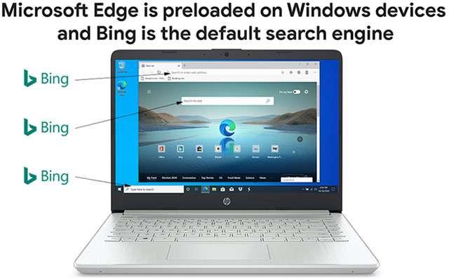 La profonda integrazione di Edge e Bing in Windows 10