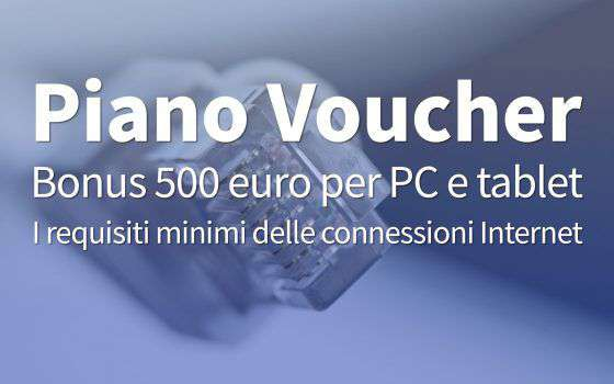 Bonus 500 euro: i requisiti delle connessioni