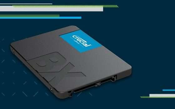 Prime Day: SSD Crucial BX500 da 1 TB