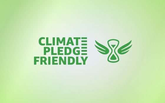 Amazon porta il Climate Pledge Friendly in Italia