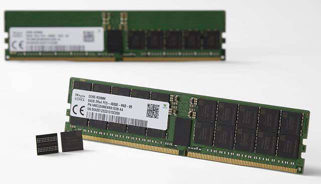 I moduli RAM DDR5 di SK Hynix