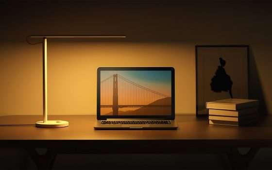 Sconto sulla lampada LED da scrivania di Xiaomi