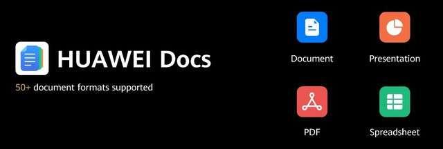 Huawei Docs per la produttività