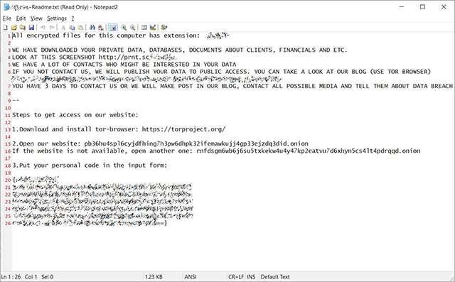 La richiesta di riscatto a Enel dopo l'attacco ransomware
