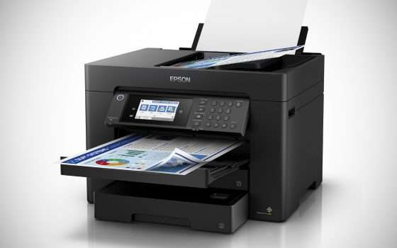 Nuove stampanti Epson WorkForce per smart working