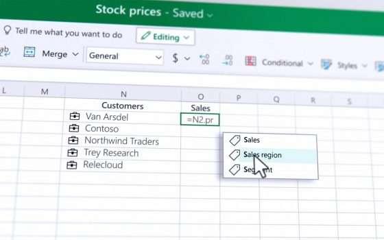 Microsoft migliora la gestione dei dati in Excel