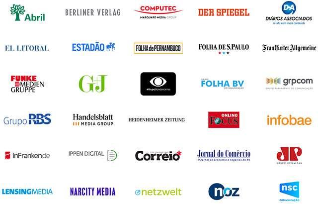 Alcuni tra i primi partner del progetto Google News Showcase