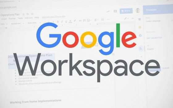 Workspace: add-on Documenti, Fogli e Presentazioni